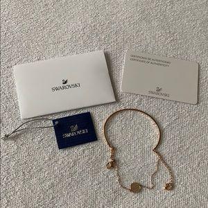 Swarovski Ginger Rose Gold-Plated Bracelet